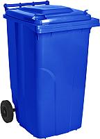 Контейнер для мусора Алеана 122064 (120л, синий) -