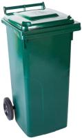 Контейнер для мусора Алеана 122068 (240л, зеленый) -