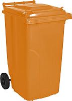 Контейнер для мусора Алеана 122068 (240л, оранжевый) -