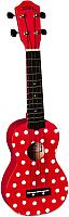 Укулеле Baton Rouge NOIR BY BR NU1S - ladybug -