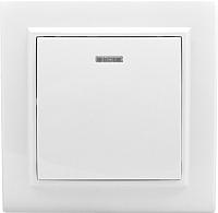 Выключатель EKF Минск СП 1кл 10А с индикатором (белый) -