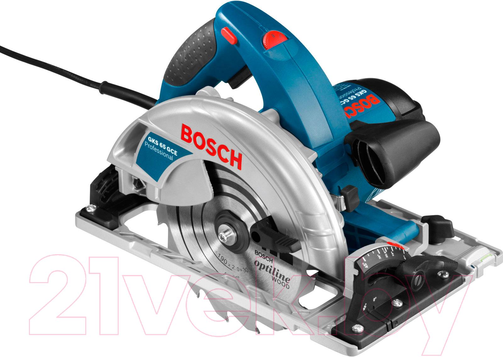 Купить Профессиональная дисковая пила Bosch, GKS 65 GCE Professional (0.601.668.901), Китай