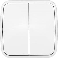 Выключатель EKF Basic Минск ОП 2кл 10А / EGV10-023-10 (белый) -