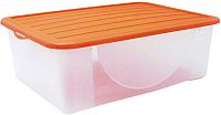 Контейнер для хранения Алеана 122042 (оранжевый) -