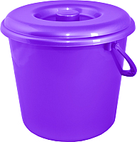 Ведро Алеана 122014 (фиолетовый перламутр) -