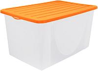 Контейнер для хранения Алеана 122044 (оранжевый) -