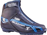 Ботинки для беговых лыж TREK Blazzer Comfort 3 N (черный/синий, р-р 44) -