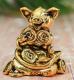 Статуэтка Yiwu Zhousima Craft Поросенок Коля / 3297752 -