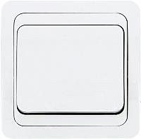 Выключатель EKF Лондон 1кл 10А / EEV10-021-10 (белый) -