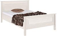 Каркас кровати ММЦ Рауна 90x200 (белый воск) -