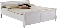 Каркас кровати ММЦ Мальта 160 без ящиков (белый воск) -
