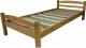 Каркас кровати ММЦ Гольф-90 (бейц) -
