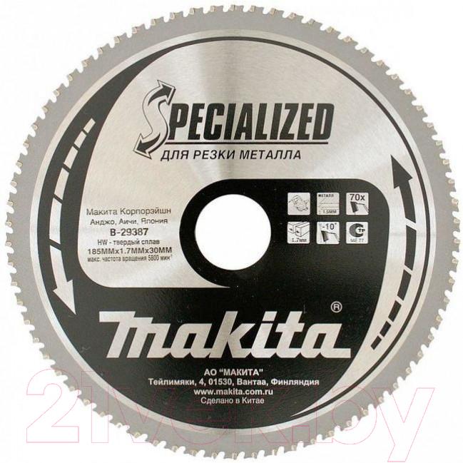Купить Пильный диск Makita, B-29387, Китай