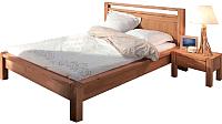 Каркас кровати ММЦ Фьорд 180x200 (бейц) -