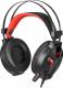 Наушники-гарнитура Redragon Memecoleous / 75096 (черный/красный) -