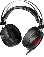 Наушники-гарнитура Redragon Scylla / 75064 (черный/красный) -