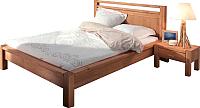 Каркас кровати ММЦ Фьорд 160x200 (бейц) -