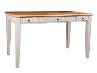 Письменный стол ММЦ Хельсинки 03 (белый воск/антик) -