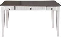 Письменный стол ММЦ Хельсинки 03 (белый воск/колониал) -