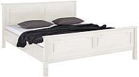 Каркас кровати ММЦ Рауна 160x200 (белый воск) -