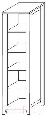 Стеллаж ММЦ Сиело 77311 (белый)