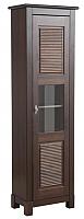 Шкаф-пенал с витриной ММЦ Рауна 10 (колониал) -