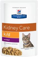 Корм для кошек Hill's Prescription Diet k/d Feline with Beef (85г) -
