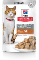 Корм для кошек Hill's Feline Young Adult Sterilised Cat with Turkey (85г) -