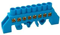 Шина нулевая Chint N ШНИ-8х12-10-КС (синий) -