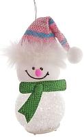 Елочная игрушка Зимнее волшебство Снеговик / 1102735 -