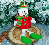 Подвеска новогодняя Зимнее волшебство Снеговик / 2357084 -