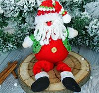 Подвеска новогодняя Зимнее волшебство Дед Мороз в пиджаке / 2357092 -