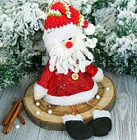 Подвеска новогодняя Зимнее волшебство Дед Мороз в кафтане / 2357094 -
