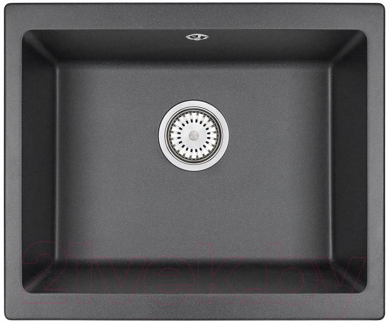 Купить Мойка кухонная Granula, GR-5551 (черный), Беларусь, кварцевый песок