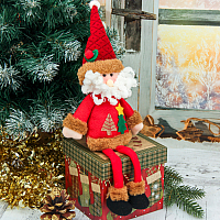 Подвеска новогодняя Зимнее волшебство Дед Мороз / 3563304 (красный) -
