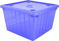 Контейнер для хранения Алеана 122043 (фиолетовый/прозрачный) -