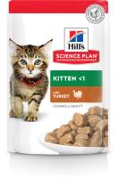 Корм для кошек Hill's Science Plan Feline Kitten with Turkey (85г) -