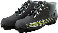 Ботинки для беговых лыж Atemi А300 Green NNN (р-р 44) -