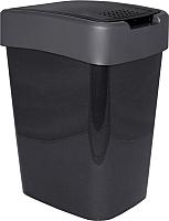 Мусорное ведро Алеана Евро 122066 (гранит/серый) -