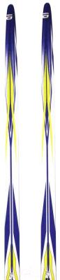 Комплект беговых лыж Atemi Arrow NN75 step 180 (синий)