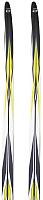 Комплект беговых лыж Atemi Arrow NNN step 200 (серый) -