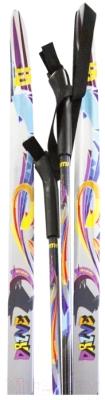 Комплект беговых лыж Atemi Drive NNN step 140/100