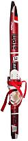 Комплект беговых лыж Atemi Formula Step 90 (красный) -