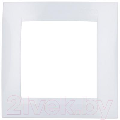 Рамка для выключателя Simon 1500610-030 (белый)
