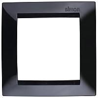 Рамка для выключателя Simon 1500610-032 (черный) -