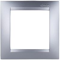 Рамка для выключателя Simon 1500610-033 (алюминий) -