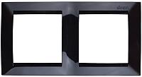 Рамка для выключателя Simon 1500620-032 (черный) -
