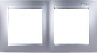 Рамка для выключателя Simon 1500620-033 (алюминий) -