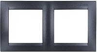 Рамка для выключателя Simon 1500620-038 (графит) -