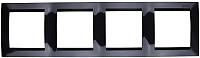 Рамка для выключателя Simon 1500640-032 (черный) -